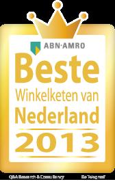 Beste winkelketen van Nederland – Publieksprijs – Retail of the year >> WSB