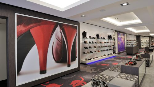 Dungelman Schuhe: Store Konzept Entwurf und Einrichtung