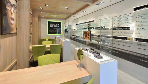 Kruithof Optik: Neugestaltung Optik und Ladeneinrichtung