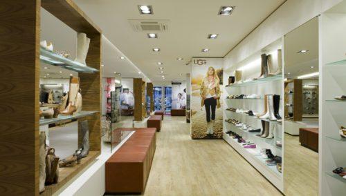 Van Keeken, WSB Ladenbau Schuhe