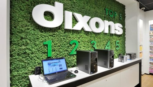 Konzept Entwurf Dixons 3.0 Concept by WSB Ladenbau Elektronik