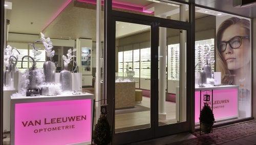 Nicht gross, aber freundlich: Entwurf Optik Van Leeuwen