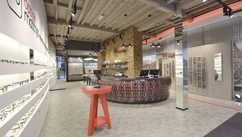 Matthijs Optik | Gent (BE): Einzigartige Einrichtung und Ladenbau Optik –