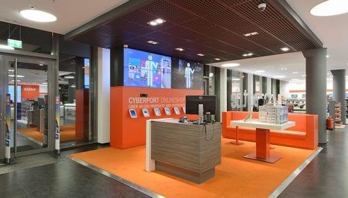Cyberport – Munich (DE) und Wien (AU) – Konzeptentwurf