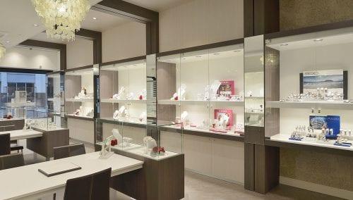 Sichere Ladenbau fur Juwelier Robert den Haag