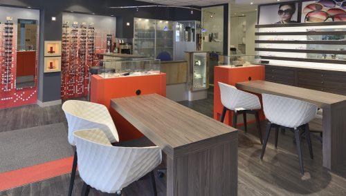 Hönl Optik | Iserlohn (DE): Renovierung Ladeneinrichtung