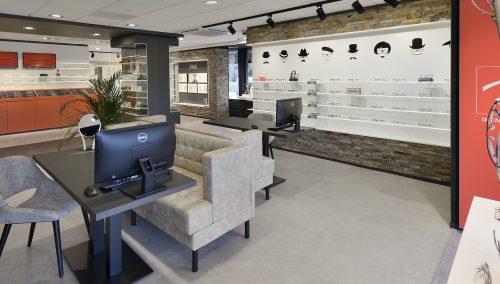 De Romph AugenOptik: Renovierung Optik Ladenlokal