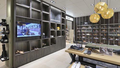 Shop-in-Shop Dungelmann Schoenen