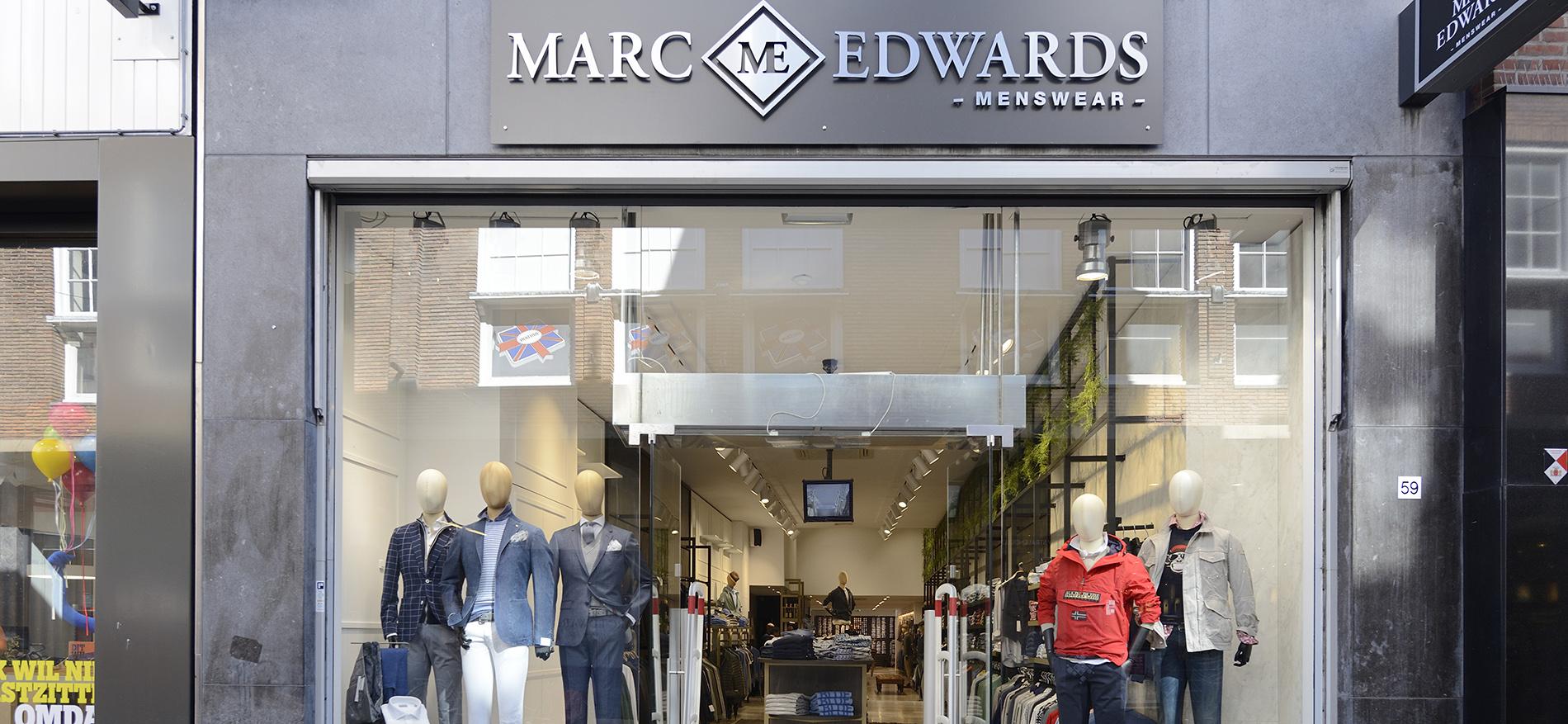 Gründliches Restyling von MarcEdwards Menswear in Haarlem