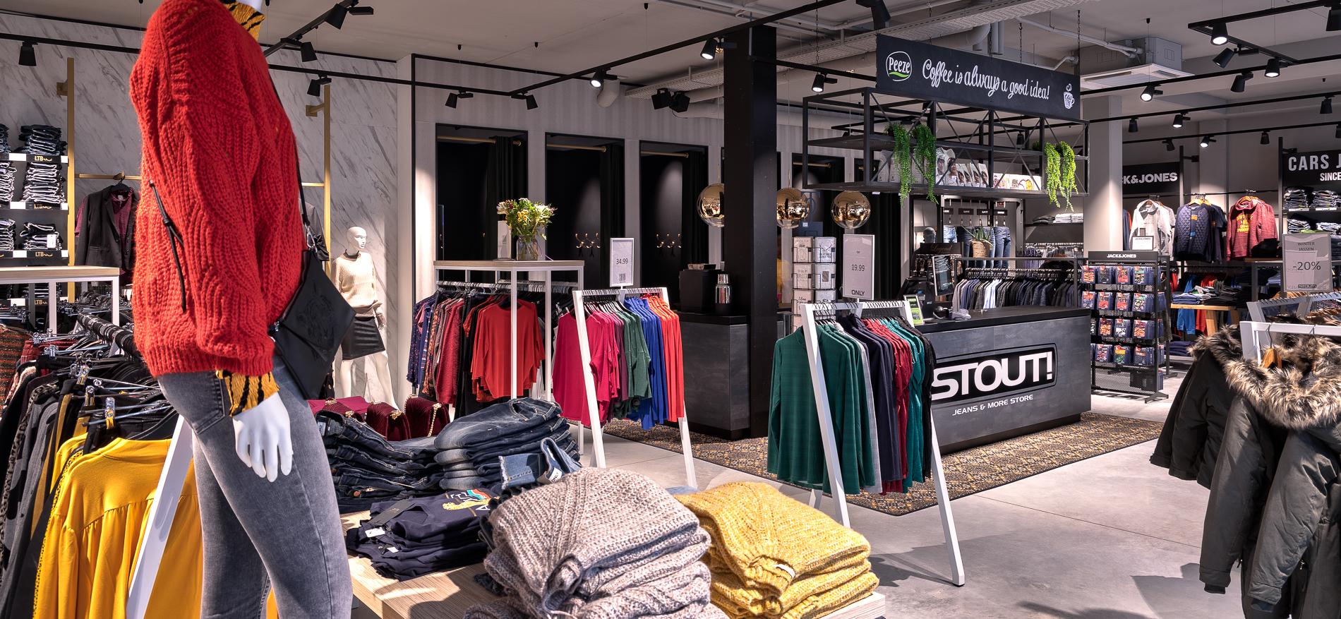 WSB: Retail branding & retail design | Budgettering en Winkelinrichting van Stout! Jeans & More