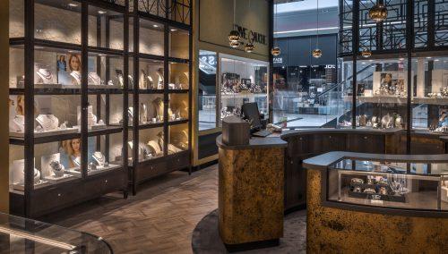 Bijouterie Rive Gauche | Ladeneinrichtung Cloche d'Or, Luxembourg