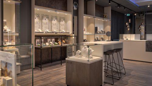 Zuyver Juweliere | Entwurf und Einrichting