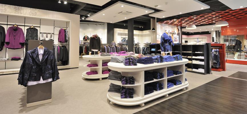 Interieur modezaak Speksnijder. Retaildesign en realisatie door WSB ...