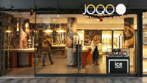 Joqo Shopconcept- WSB Ladenbau Schmuck Uhren