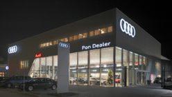 Audi Schauraum: Einrichtung