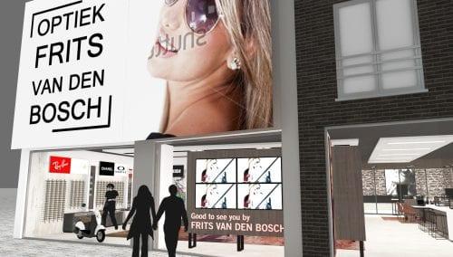 In Ausfuhrung >> WSB Ladenbau Optiker 'Van den Bosch Optik' Deurne (BE)