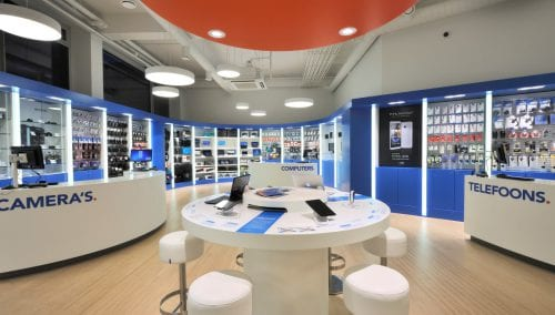 Einrichtung Elektroniker Coolblue NL