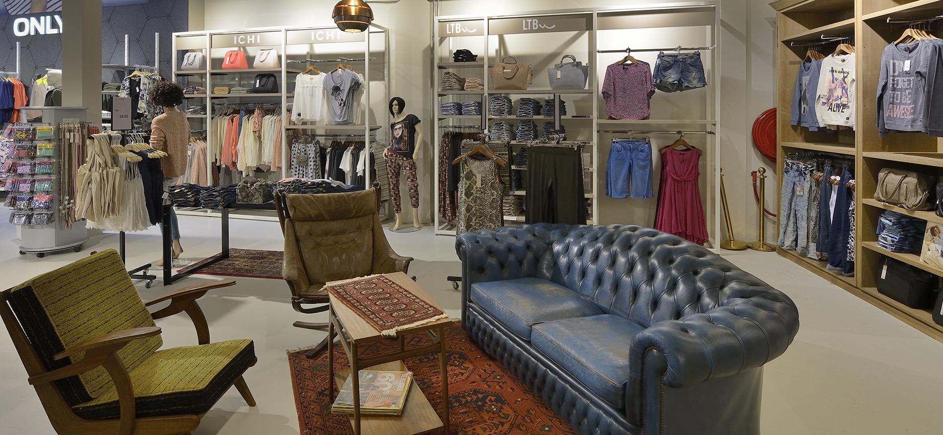 Stout Jeans Erfolgreiche Einrichtung Mode Konzept