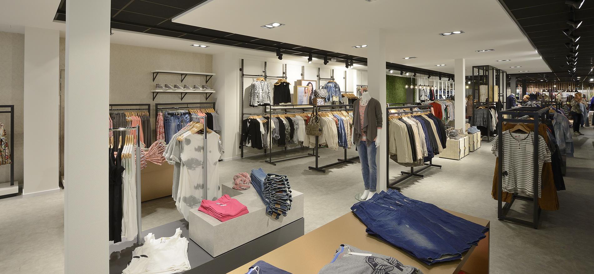 Konzept entwurf peter fashion von wsb ladenbau for Einrichtung shop