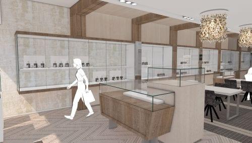 Einzigartiges Entwurf und Ladenbau Schmuck fur Robert den Haag