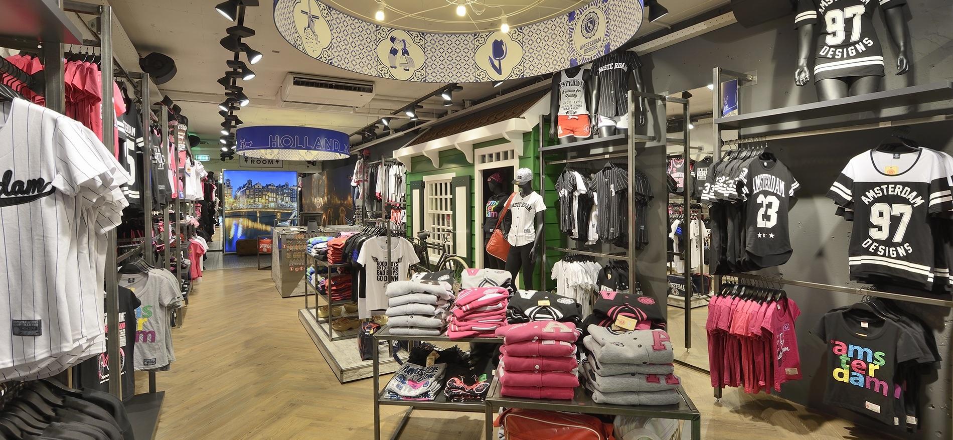 Ontwerp en inrichting museum en touristische winkels of souvenirshops