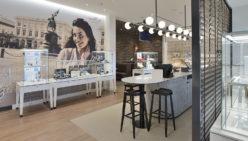 Siebel Juweliers: Ladenbau Schmuck Konzept –