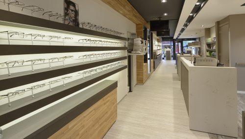 Brilmode Zeist – Ladeneinrichtung Augenoptiker