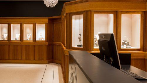 Eingreifende Renovierung Juwelier Steltman | Den Haag