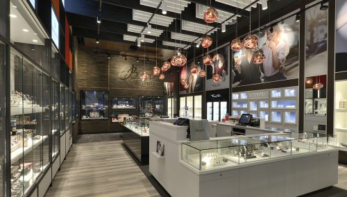 Bigor | Differdange (LU), Einrichtung Juweliergeschäft Bigor