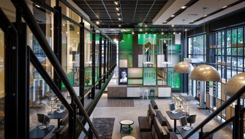 Ladeneinrichtung Groenhof Optik | Design + Erlebnis