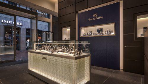 Seiko Boutique   Shop-Konzept